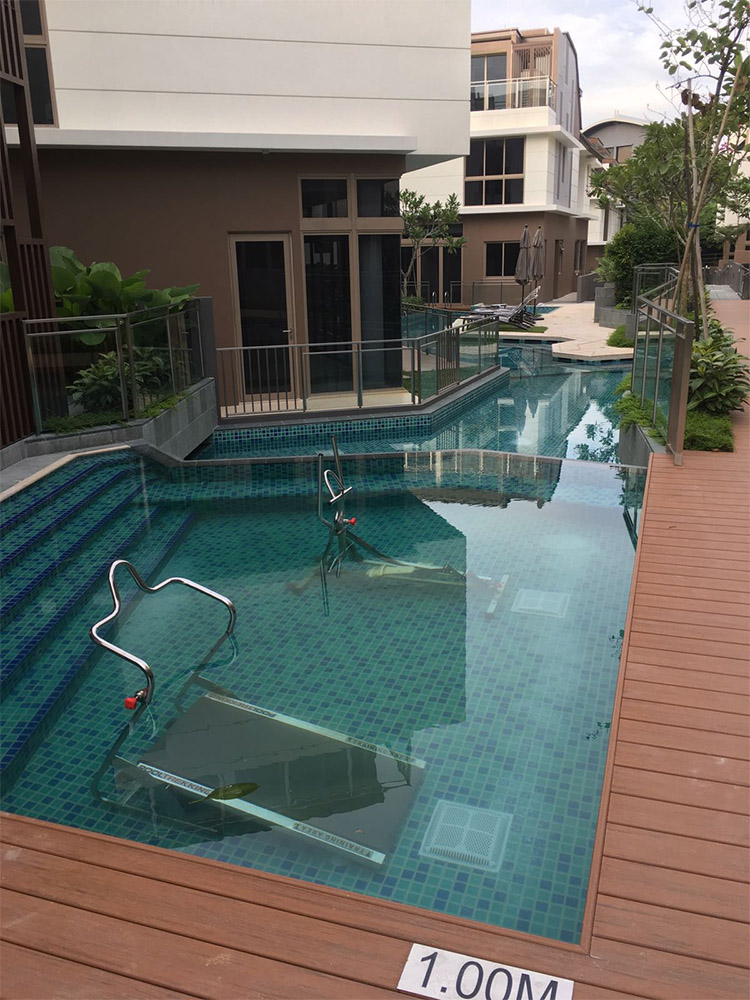 Whitley Residences lap pool