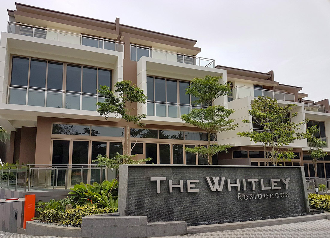 Whitley Residences Facade